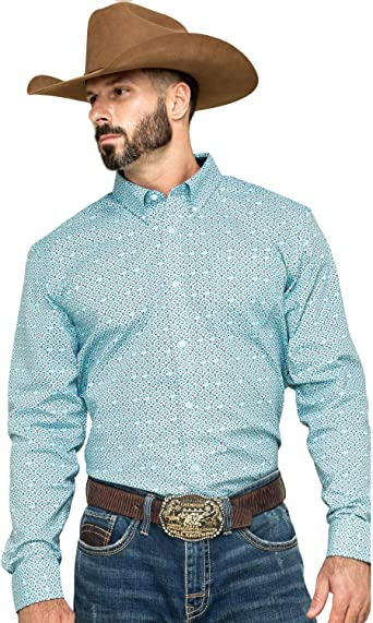 Long Sleeve Western Shirt Navy