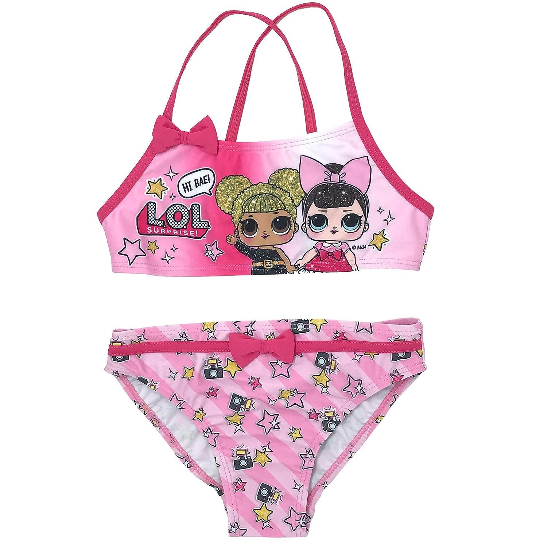 LOL Surprise SE6312 Costume Due Pezzi Poliestere Bambina Bikini