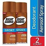 Right Guard Sport Original Deodorant Aerosol Spray, 2 Count