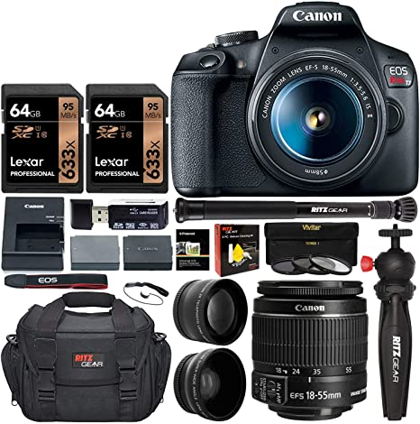 Amazon.com: Canon EOS Rebel T7 - Cámara réflex digital ...