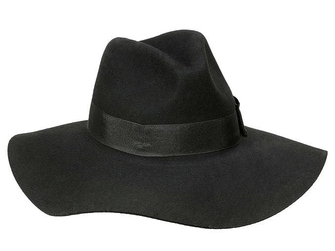63508ab647 Brixton Women's Floppy Hat Piper - black: Amazon.co.uk: Clothing