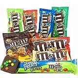 Coffret cadeau M&M's Américain | Boîte American Candy, Chocolat, M&M | Sélection de confiseries chocolats authentiques | Coffret cadeau vintage