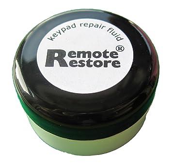 Remoto Kit de restauración - Teclado de goma conductora reparación para mandos a distancia, teléfonos y teclados: Amazon.es: Electrónica