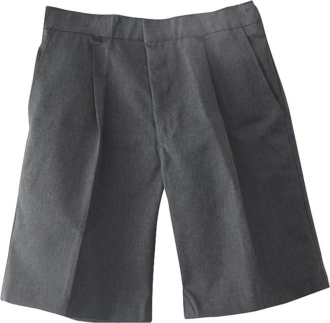 Boys Kid Children BRITWEAR Plus Size Sturdy Wide Fit Waist School Uniform Shorts