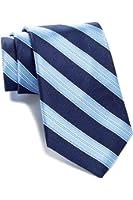 Tommy Hilfiger Men's Twill Bar Stripe Silk Tie