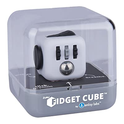 Antsy Labs Fidget Cube (Colors Vary): Toys & Games [5Bkhe0902776]