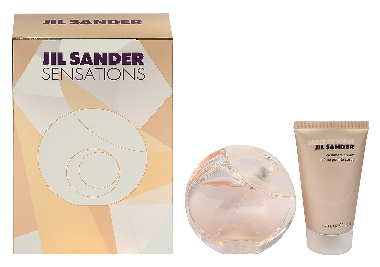 Jil Sander Sensations Giftset EDT Spray Plus Cashmere Cream, 40 ml/50 ml Coty GST12597