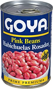 Goya Foods Pink Beans, 15.5 Ounce (Pack of 24)