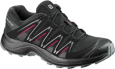 Salomon - Zapatillas para Correr en montaña para Mujer Negro Black ...