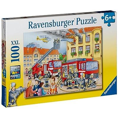 Ravensburger Fire Department - 100 Piece Puzzle: Toys & Games