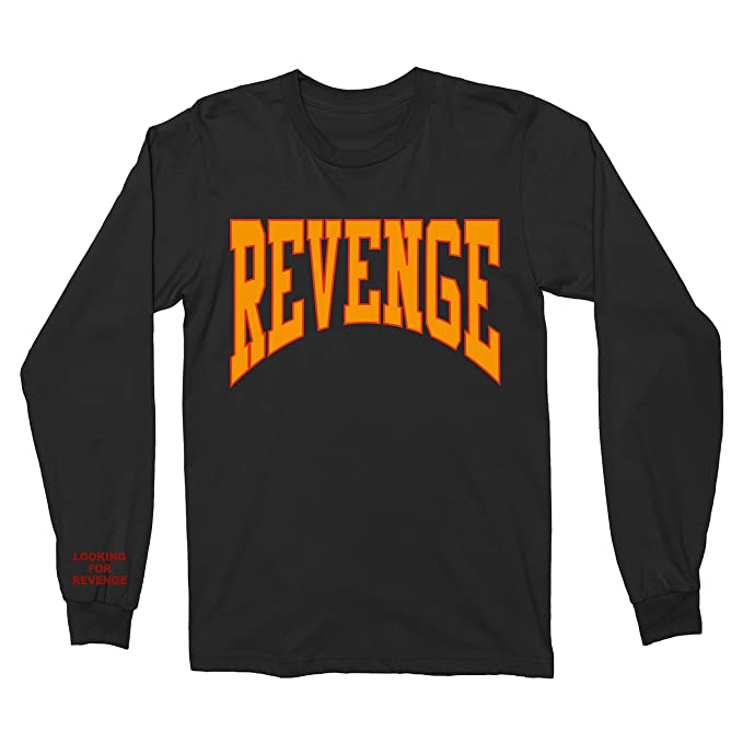 852cf88890e9 Max Apparel Drake Summer Sixteen Tour Revenge Shirt Long Sleeve (Small)