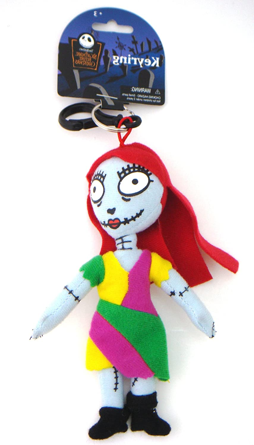 Disney Nightmare Before Christmas Sally Keychain & Keyring 21584