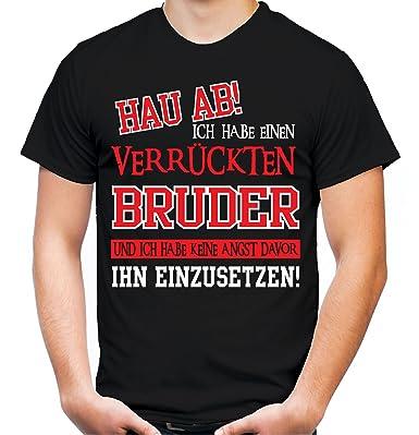 Verrückter Bruder T Shirt Geburtstag Geschenk