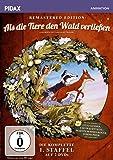 Als die Tiere den Wald verließen, Staffel 1 - Remastered Edition / Die komplette 1. Staffel der Kultserie nach dem gleichnamigen Roman von Colin Dann (Pidax Animation) [2 DVDs]