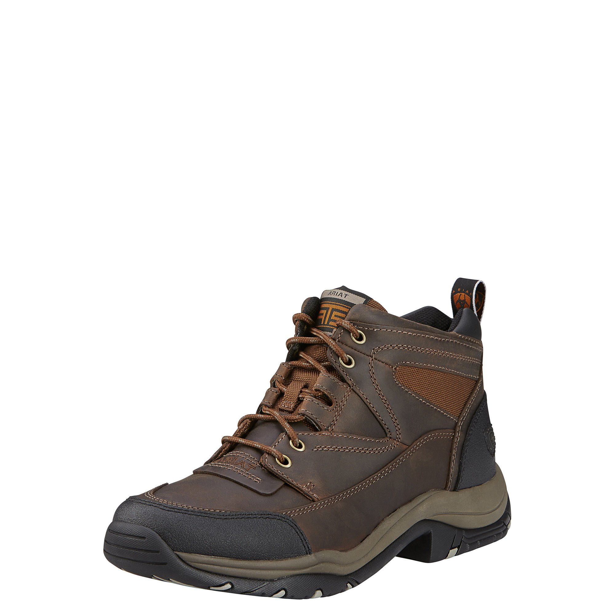 Ariat Men's Terrain Hiking Boot, Distressed Brown, 10 M US by Ariat
