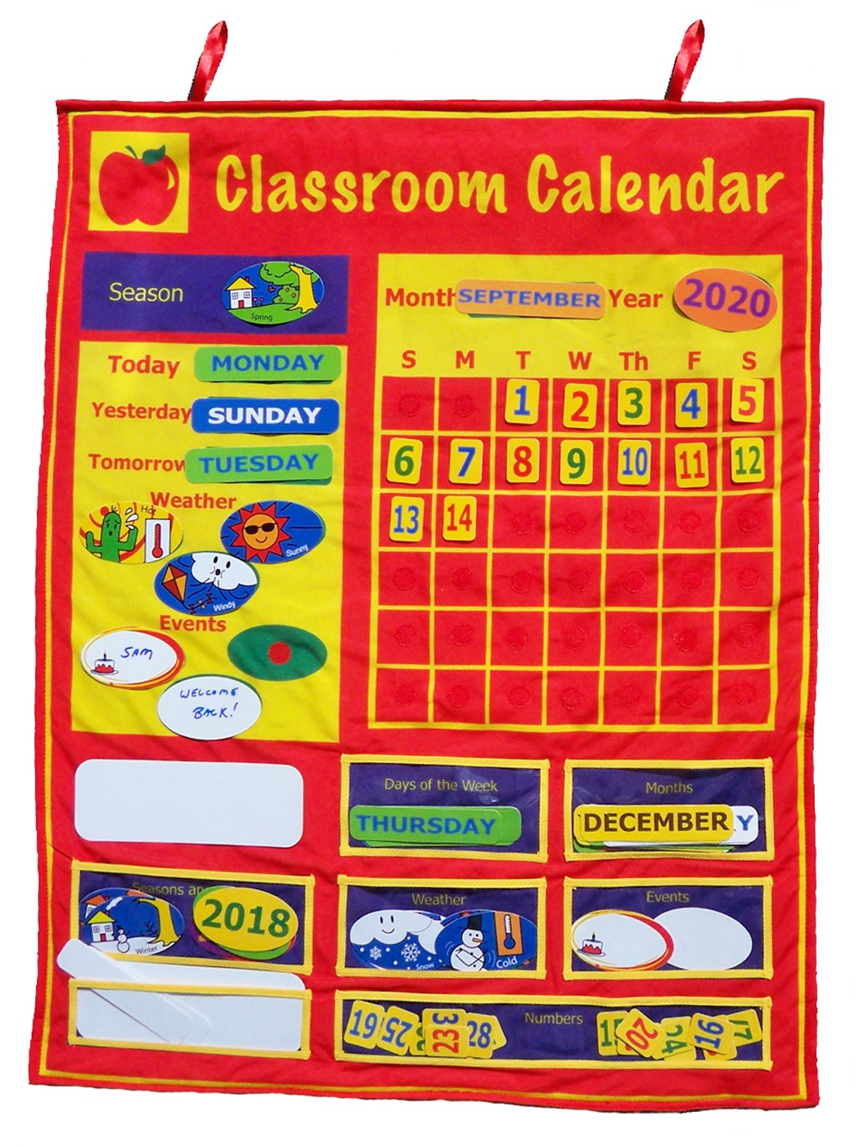 Get Ready Kids Classroom Calendar, 36 X 36 in by Get Ready Kids