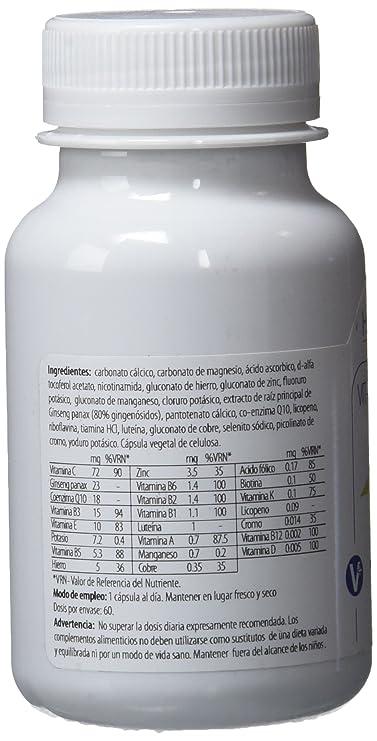 H4U Vitamin Complex 60 cápsulas de 820 mg: Amazon.es: Salud y cuidado personal