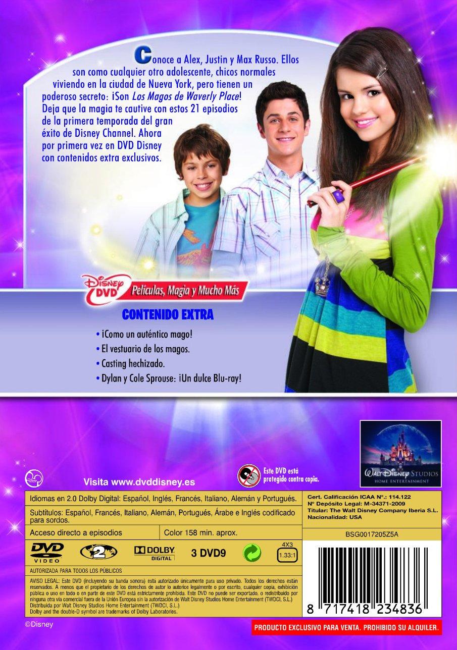 Los magos de Waverly Place (1ª Temporada) [DVD]: Amazon.es: Selena Gomez, David Henrie, Jake T Austin, Jennifer Stone, Maria Canals-Barrera, David DeLuise, ...