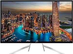 Acer LED ET322QK wmiipx 4K UHD 3840x2160 16:9 4ms 10M:1 HDMI/DP White Retail, Black
