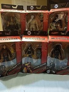 DC Multiverse King Shark Wave Set of 6