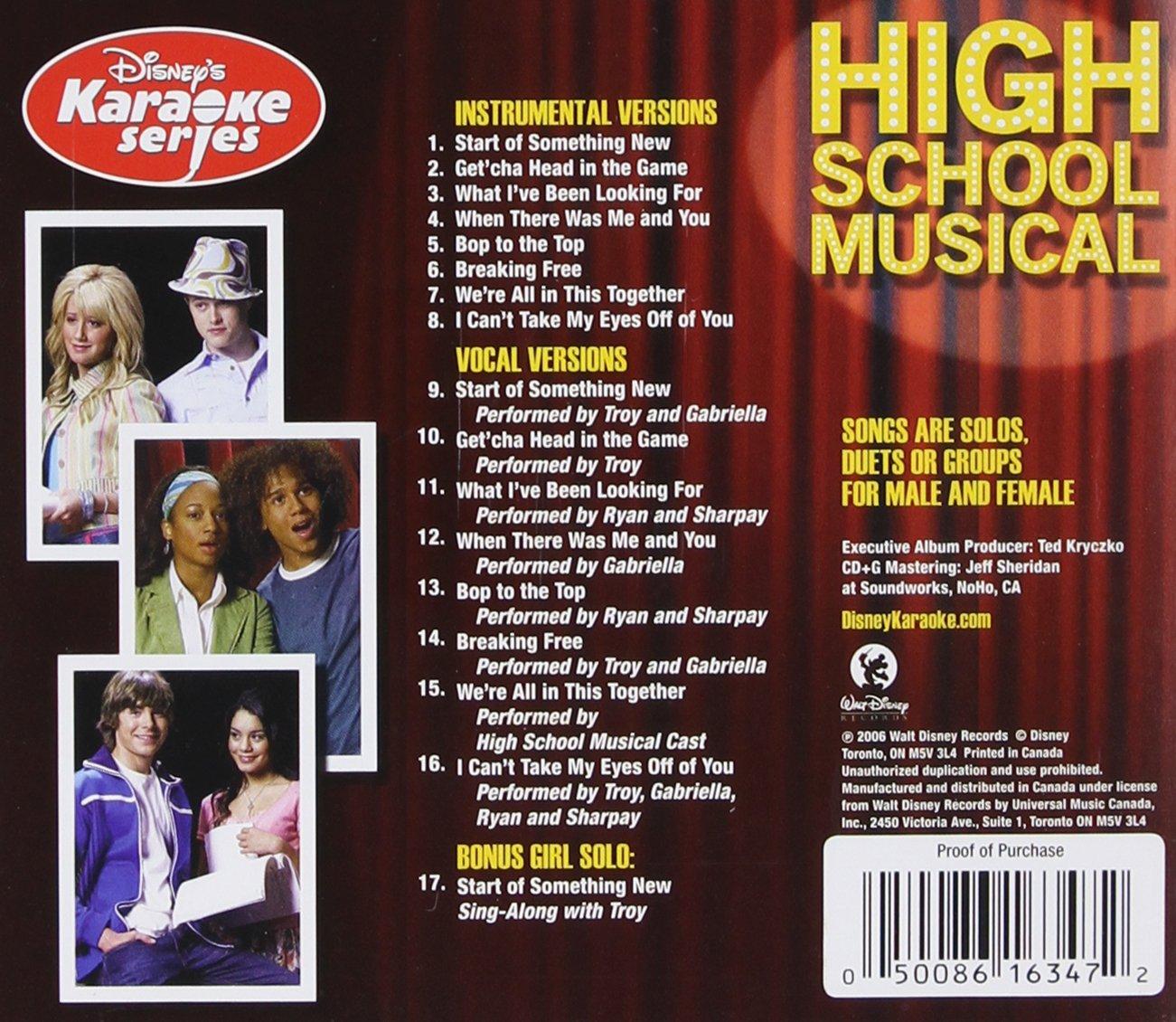 Disney's Karaoke Series: High School Musical