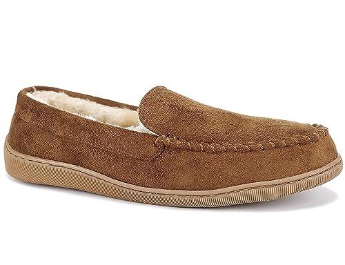 Maxmuxun Mocasines Hombre sin Cierre Calentar Forrado Loafers Casuales: Amazon.es: Zapatos y complementos