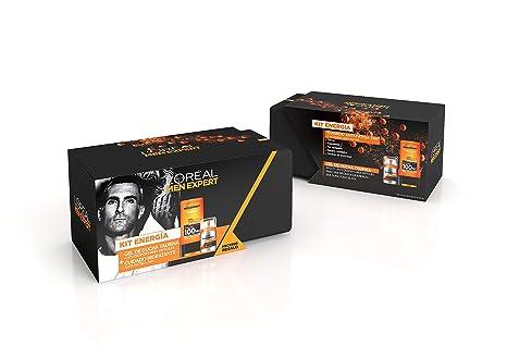 LOréal Men Expert Kit Energía, incluye Neceser, Gel de Ducha ...