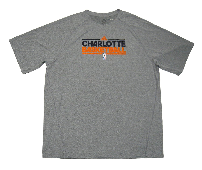 outlet store 7d1bb 4e8e9 NBA Charlotte Bobcats Team Issued Short Sleeve adidas ...
