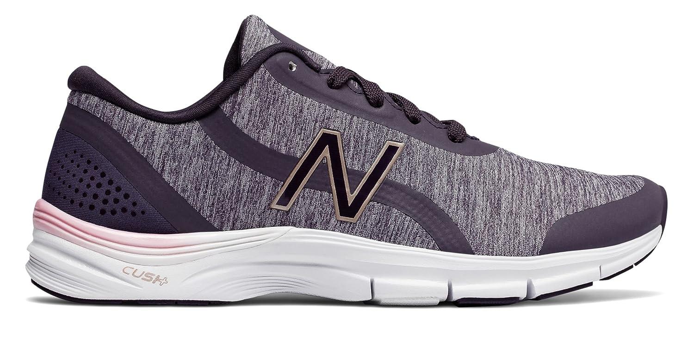 (ニューバランス) New Balance 靴シューズ レディーストレーニング 711v3 Mesh Trainer Elderberry with Thistle and White エルダーベリー ホワイト US 6.5 (23.5cm)   B079KM1M5P