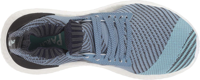 adidas Damen Ultraboost X Parley Carbon Carbon Blue Spirit