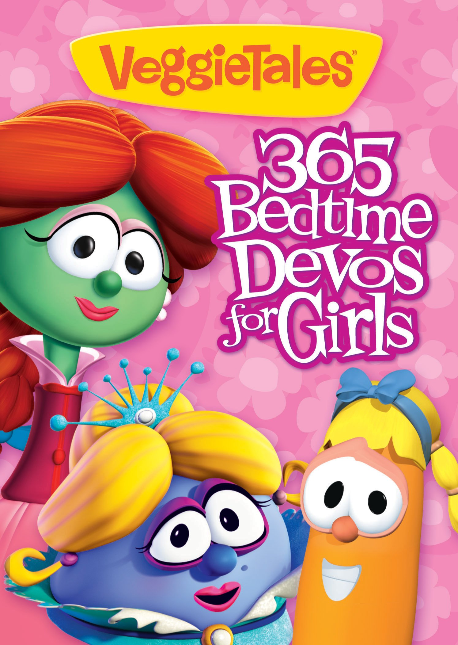 VeggieTales: 365 Bedtime Devos for Girls Paperback – January 20, 2012