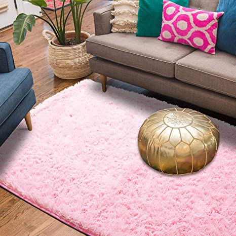 Amazon Supmaker Soft Indoor Modern Area Rugs Fluffy Living Room New Carpets For Bedroom Decor