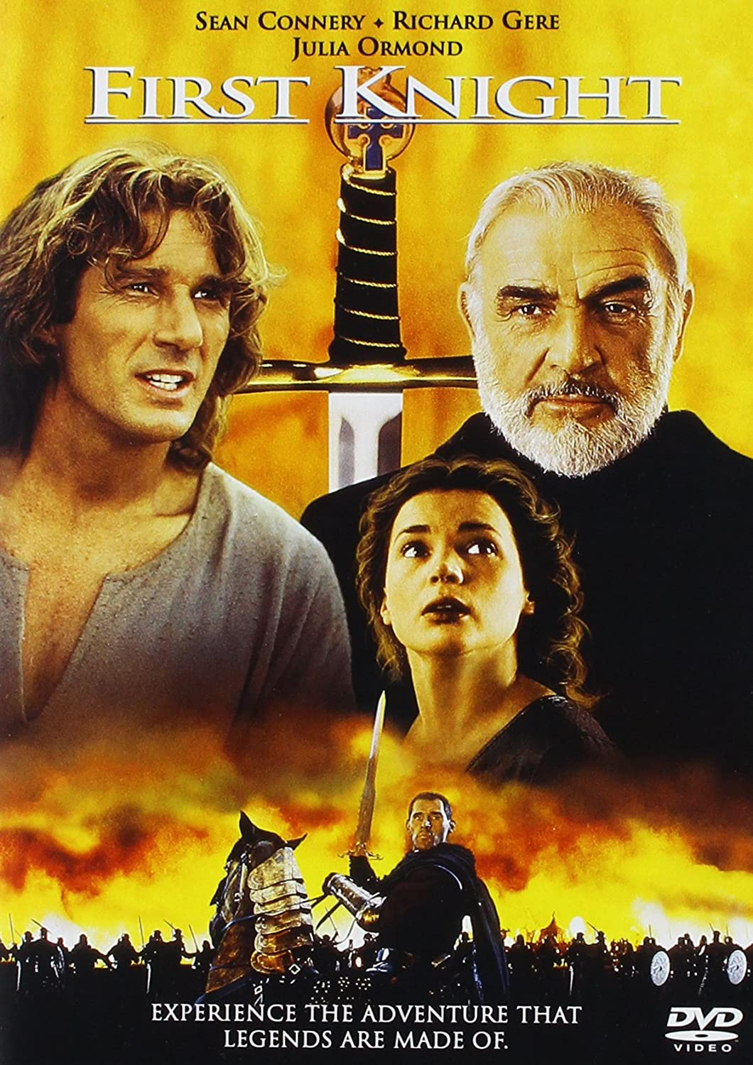 Amazon Com First Knight Sean Connery Richard Gere Julia Ormond Ben Cross Liam Cunningham Christopher Villiers Jerry Zucker Jerry Zucker Hunt Lowry Columbia Pictures Corporation First Knight Prods Ltd Movies Tv