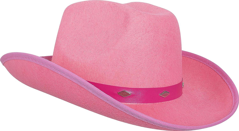 1c76f35b2b896 Kangaroo Pink Studded Felt Cowboy Hat