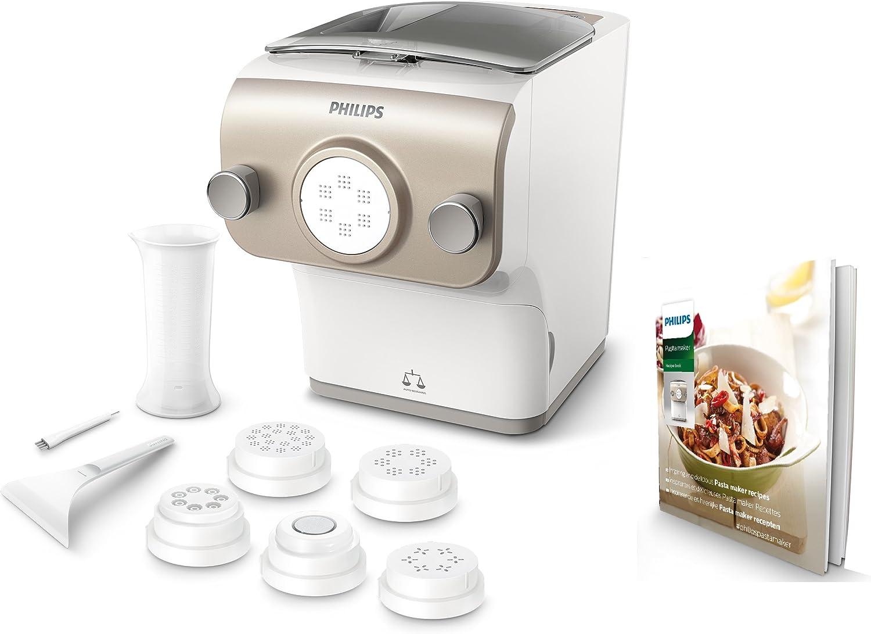 Philips Avance Collection HR2381/05 máquina de pasta y ravioli Máquina eléctrica para elaborar pasta fresca - Máquina para pasta (200 W, 200 W, 6,9 kg, 10,2 kg): Amazon.es: Hogar