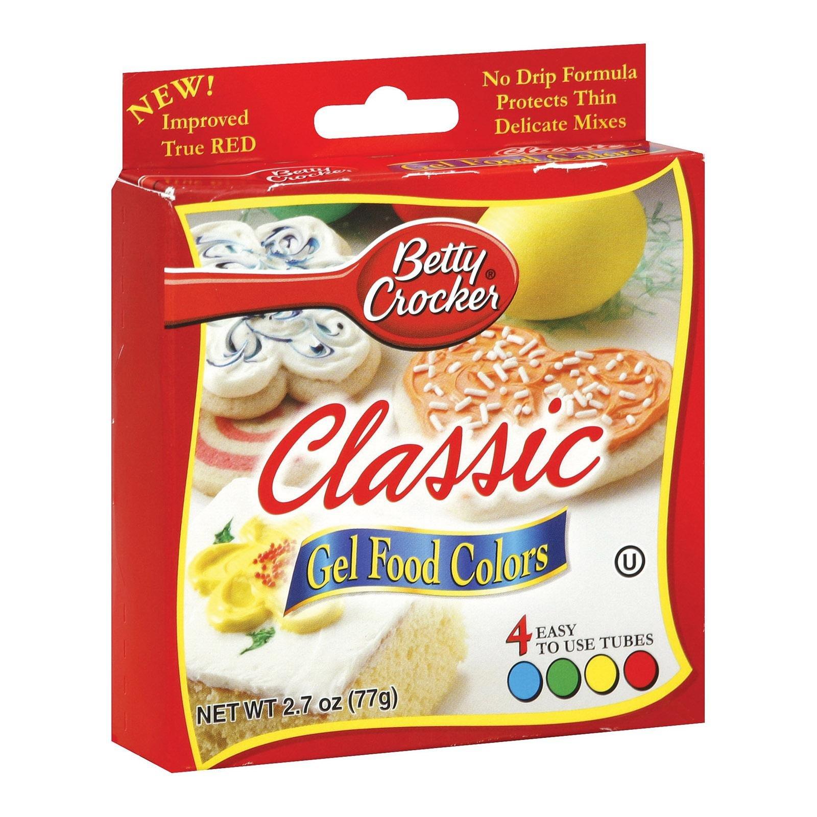 Amazon betty crocker food color neon gel 27 oz grocery betty crocker classic gel food colors 4 ct nvjuhfo Choice Image