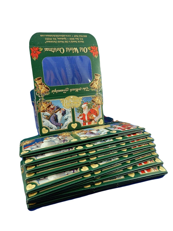 Amazon.com: Old World Christmas 10 Small Gift Cardboard Boxes 14036 ...