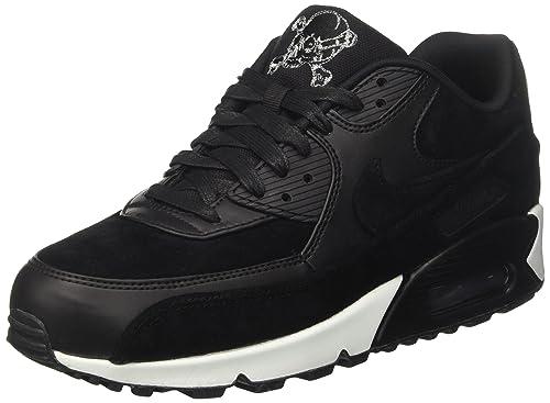 new style d1e14 30b03 Nike Air MAX 90 Premium, Zapatillas de Gimnasia para Hombre Amazon.es  Zapatos y complementos