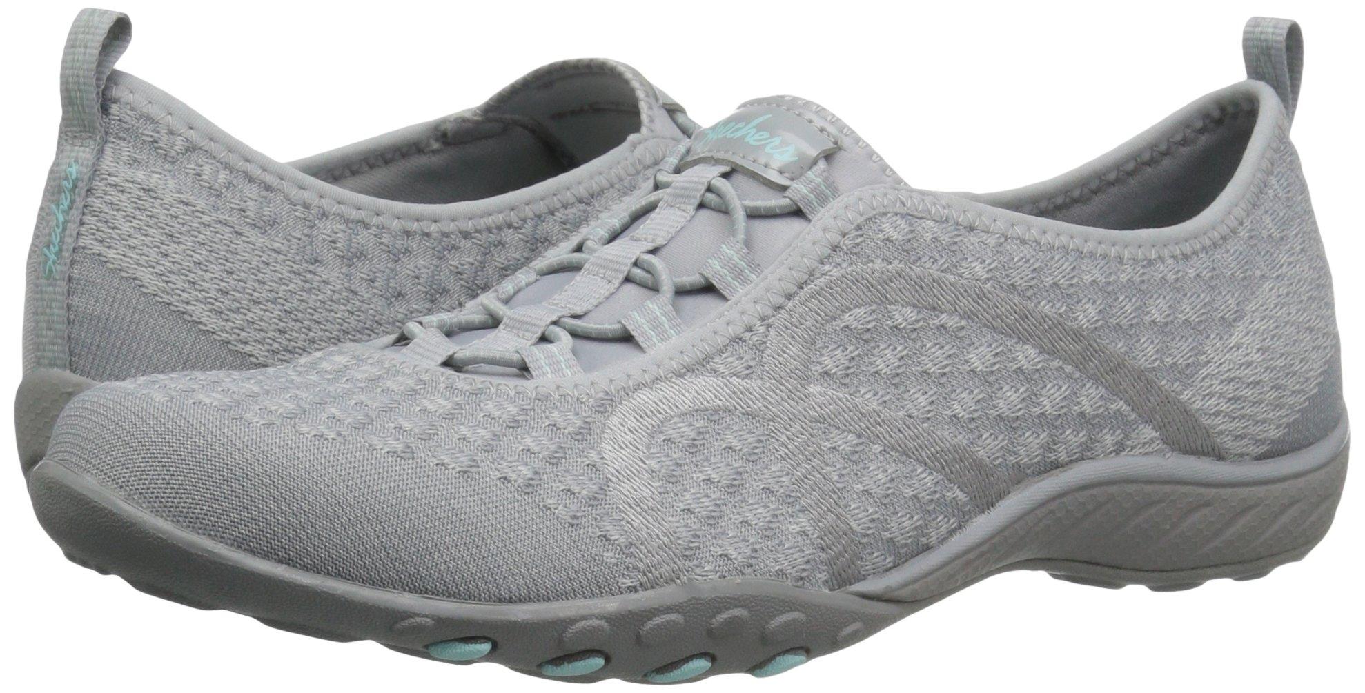 Skechers Sport Women's Breathe Easy Fortune Fashion Sneaker,Grey Knit,5.5 M US by Skechers (Image #6)