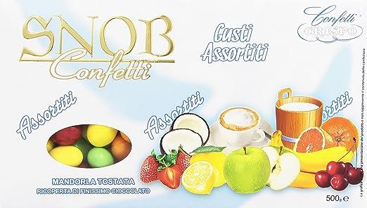 60 opinioni per Crispo Confetti Snob- Gusti e Colori Assortiti- 4 confezioni da 500 g [2 kg]