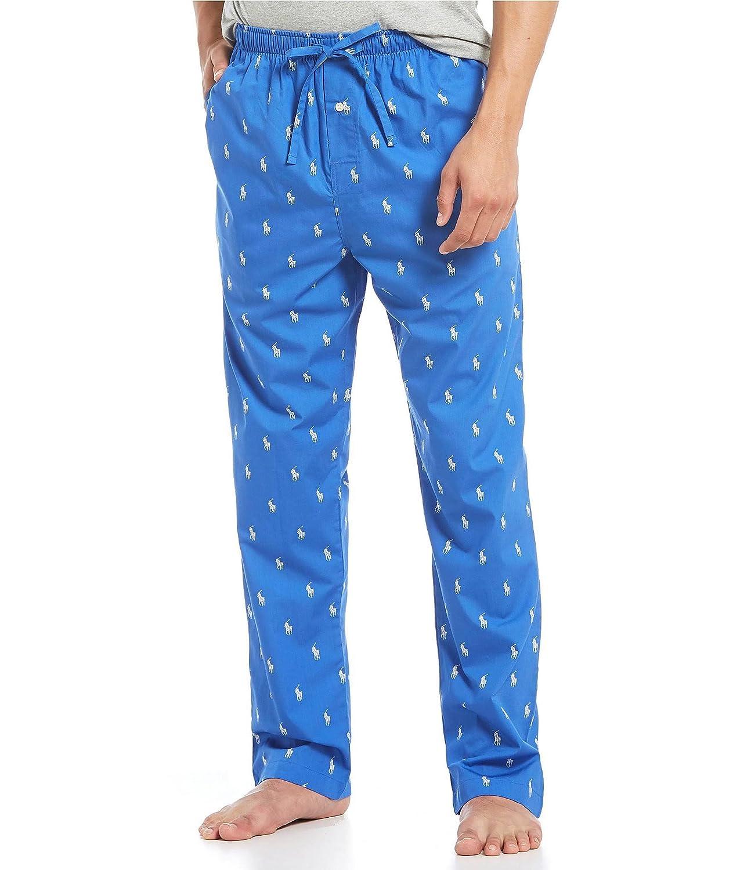 Polo Ralph Lauren Mens Multi-pony Pj Woven Pajama Pants at Amazon Mens Clothing store: Pajama Bottoms