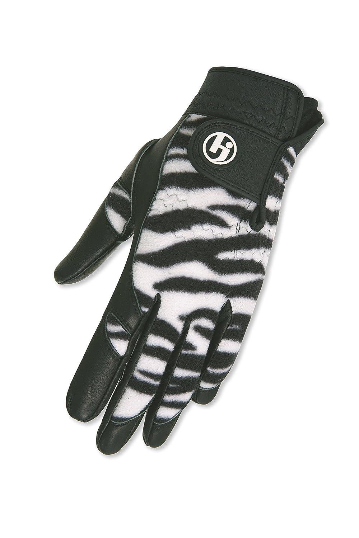 HJグローブWomen's Winterパフォーマンスゴルフグローブ、Small、Black Zebra   B01GG1NCM4