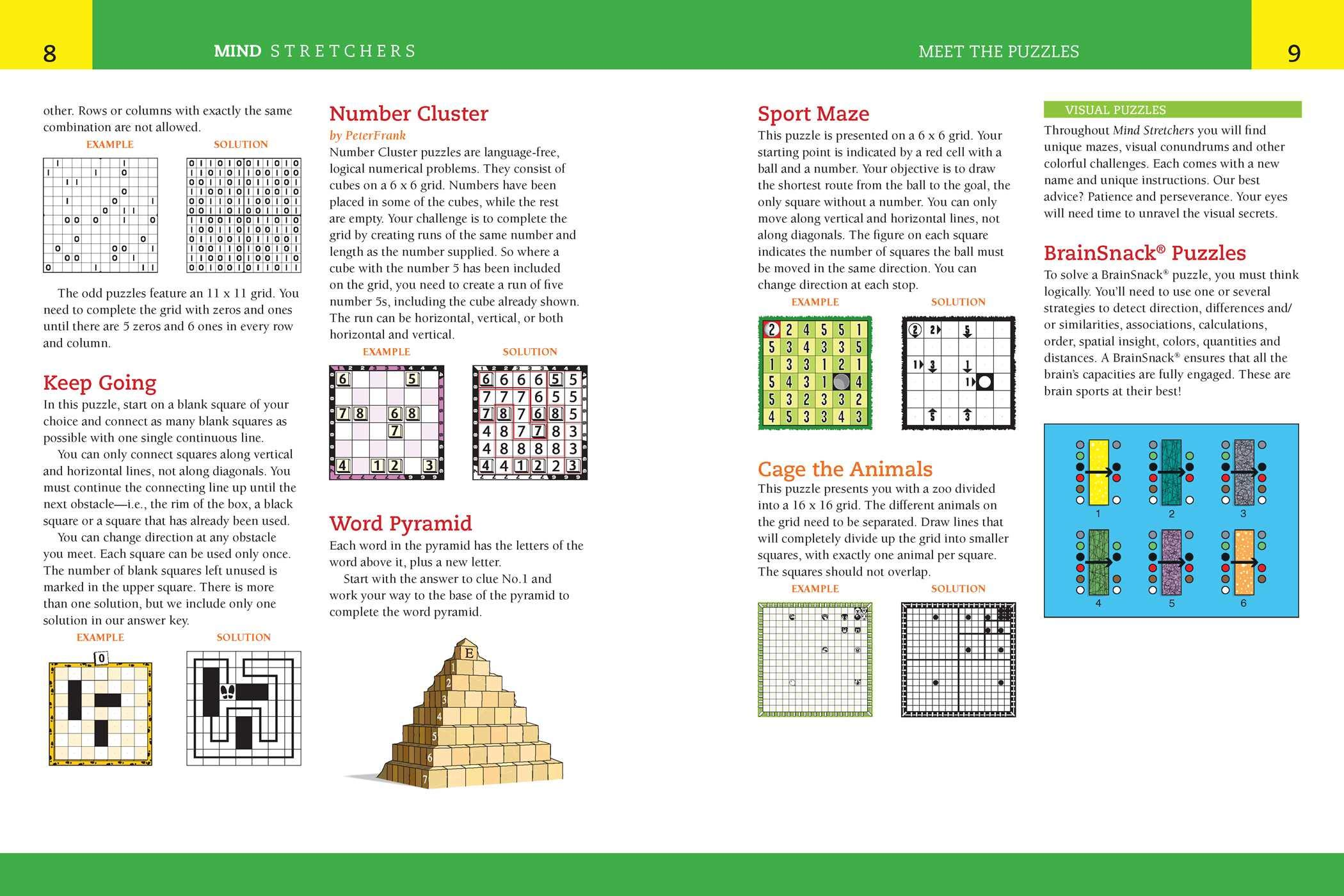 Reader's Digest Mind Stretchers Puzzle Book Vol  3: Number