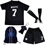 5e07f1f1f LES TRICOT 2018 2019 Paris Away  7 MBAPPE Football Futbol Soccer Kids  Jersey Shorts