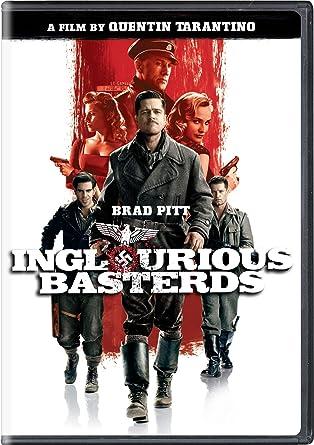 Amazon com: Inglourious Basterds (Single-Disc Edition): Brad