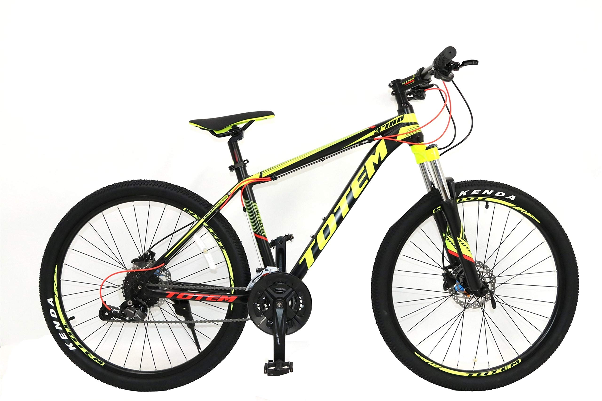 bea9a0e7093 TOTEM-3700 Aluminum Mountain Bike 27Speed Hydraulic Brake-26Inch ...