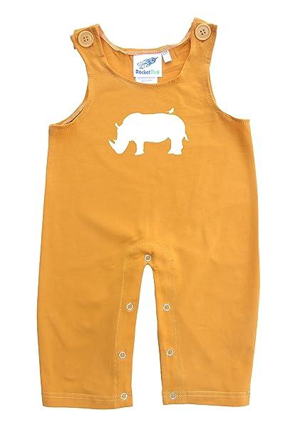 c7b1318c Amazon.com: Baby and Toddler Overalls-Rhino: Clothing