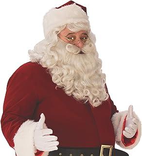 Amazon.com: Deluxe 100% yak Hair Barba de Papá Noel Set ...