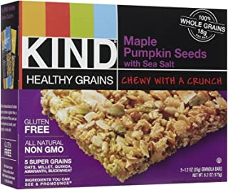 product image for Kind Granola Bars, Maple Pumpkin & Sea Salt, 1.2-ounce Bars, 5 Bars per Box, Case of 8 Boxes (Total 40 Bars)