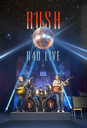 Amazon R40 LIVE DVD RUSH Geddy Lee Alex Lifeson Neil
